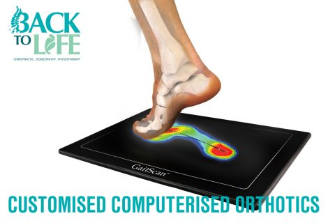 Free Computerised Customised Orthotics and 30-min Physio Massage with RF
