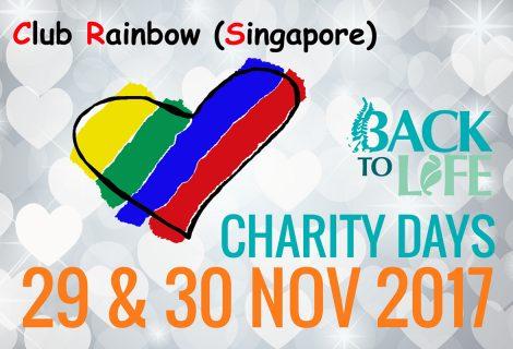 Charity Days 29 & 30 Nov 2017 – Club Rainbow