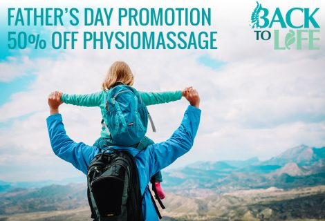 Father's Day Promotion: 50% off PhysioMassage
