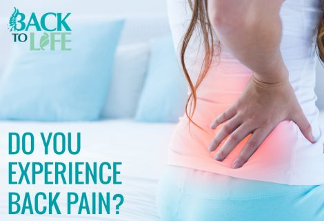 Do you experience back pain?